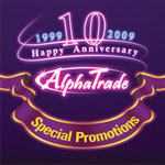 Print: Postcard Series - AlphaTrade 10 Year Anniversary Promotion