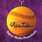 Print: AlphaTrade Ad on Rays Inside Pitch and NY Mets Year Book