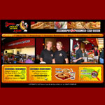 Web Design (Art Direction): Famous Uncle Al's Hot Dogs