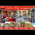 Web Design: Lions Bay Art Gallery