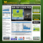 Web Design: MaverickStocks.com